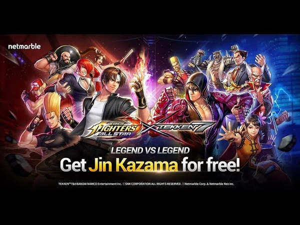 KOF ALLSTAR x TEKKEN 7 Collab Tekken Fighters now available