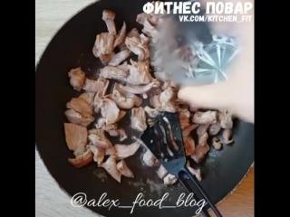 Мясо со стручковой фасолью: Фитнес Повар
