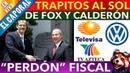 🔴 EN VIVO ReveIan Más Condonaciones Fiscales Hechas Por Fox Y Calderón