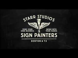 Sign Painters: Starr Studios