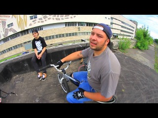 Brian Kachinsky Riding BMX in Russia