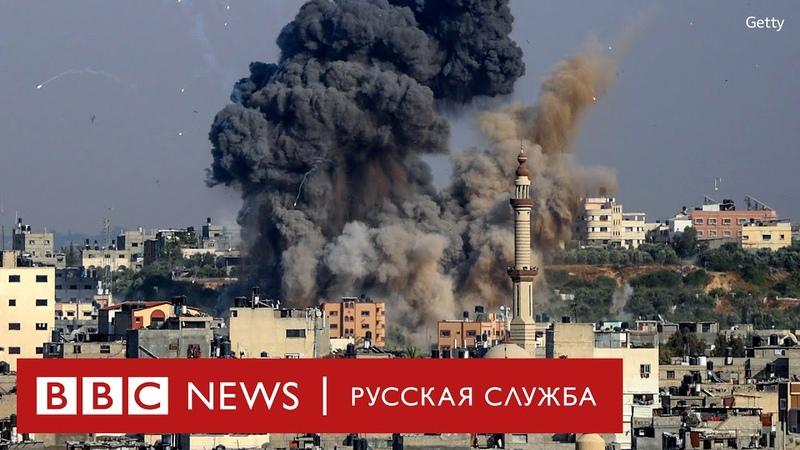 Израиль и сектор Газа обмениваются обстрелами есть жертвы