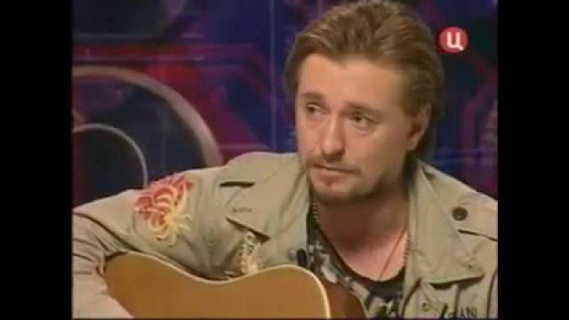 Сергей Безруков - пей со мной паршивая сука(стихи С Есенина)