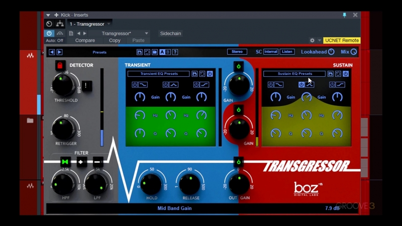 Groove3 Boz Digital Labs Transgressor Explained