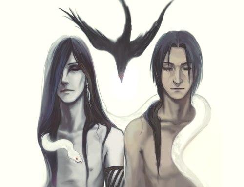 Orochimaru And Anko Ii By Levithnin On Deviantart
