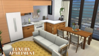 LUXURY APARTMENT 💲 Stop motion 🌼 No CC 🌼The Sims 4 | Download