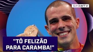 """📢FALA, BRUNO FRATUS: """"Os caras são grandes, mas nós somos ruins. Aqui é Brasil"""" #TÓQUIO2020  SPORTV"""