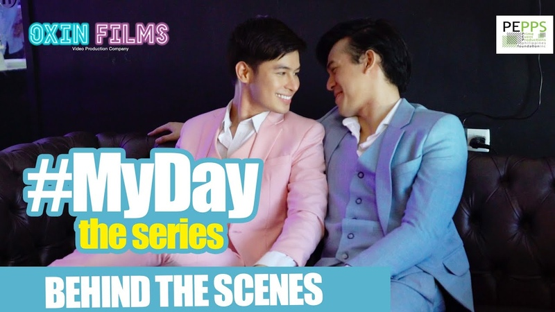 MyDay The series Behind the scenes Photoshoot w 20 subtitles