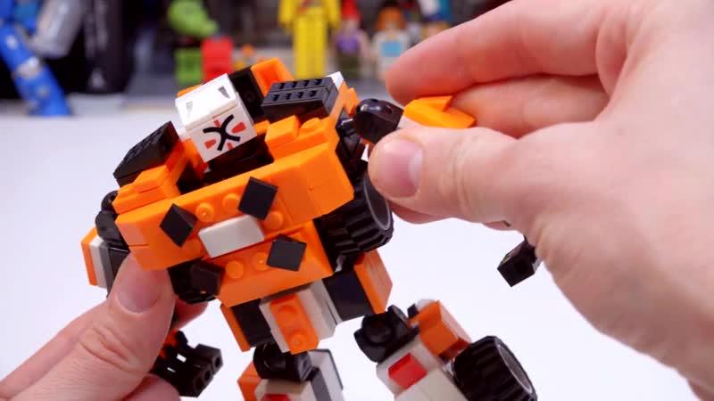 Shiro Geek World ЛЕГО ТОБОТЫ СУЩЕСТВУЮТ Почти FAKE LEGO TOBOTS