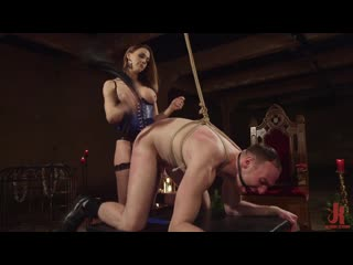 Chanel Preston - A Merry Coerced Cock-Sucking Christmas [Femdom, Strapon, Anal Fingering Pegging Dildo BDSM Bondage Facesitting]