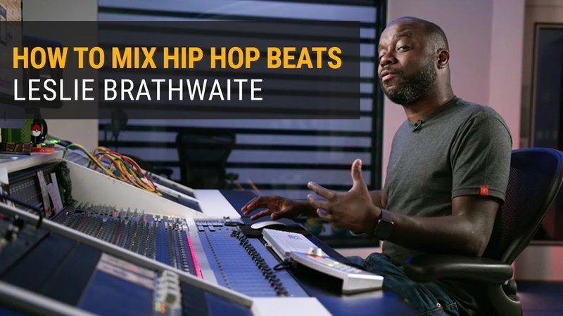 How to Mix Hip Hop Beats Leslie Brathwaite Pharrell Williams