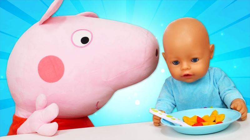 Плей До паста для куклы беби бон Видео для детей на английском языке