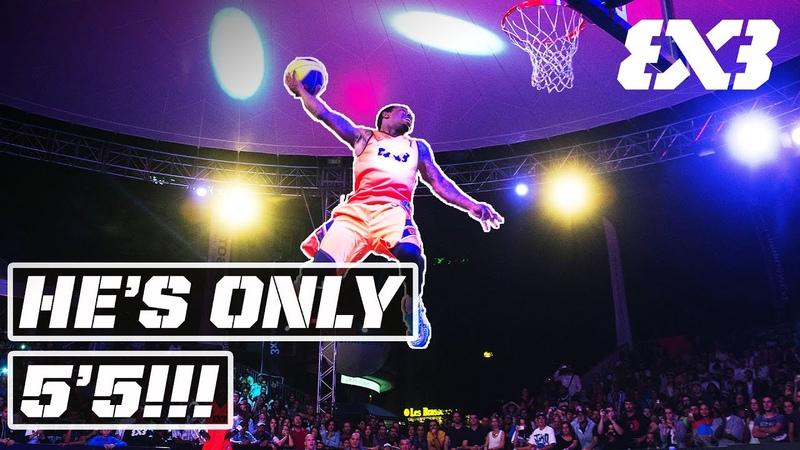No Way😱 5'5 Pro Dunker over 6'10 Big Man FIBA 3x3 Dunk Contest Highlights