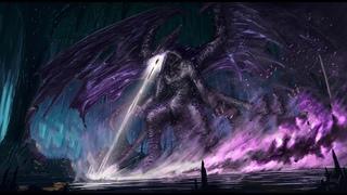 Dark Souls 3 - Darkeater Midir vs Artorias - NO DAMAGE (NG+7)
