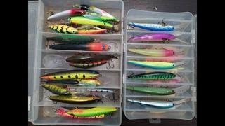Воблера для троллинга трофейной рыбы.  Обзор приманок для ловли трофеев. Trophy fishing lure.