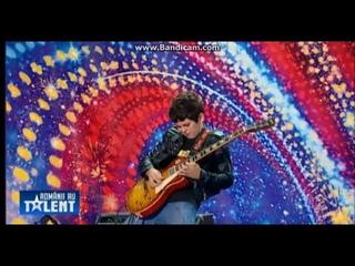 Got Talent - Andrei Cerbu  10 y.o. - Still Got The Blues by Gary Moore