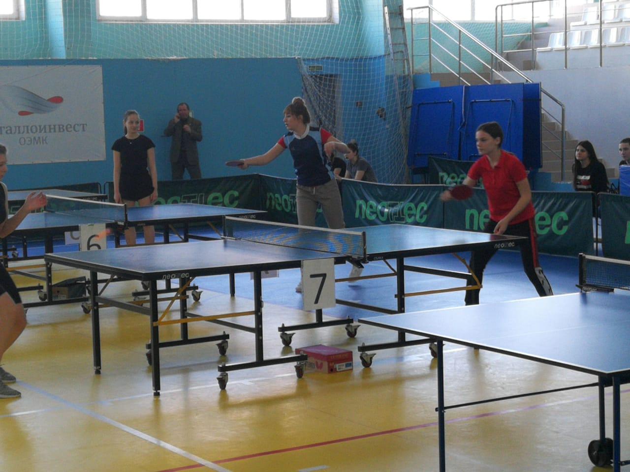 соревнования по настольному теннису .25.02.21