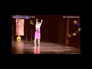 Mini/Junior Miss&Mister European Union 2013 (open): TALENT - Oliver Guzan