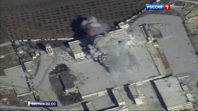 Вести в 20:00 • Стратегические ракетоносцы РФ нанесли удары по позициям ИГИЛ и Джабхат ан-Нусра в Сирии