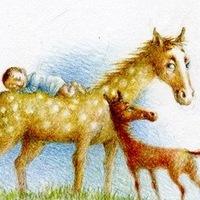"""Логотип Детский центр.Частный сад """"Мамин садик"""" Тольятти"""