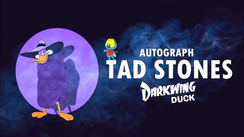 Автограф Тэда Стоунса Autograph Tad Stones