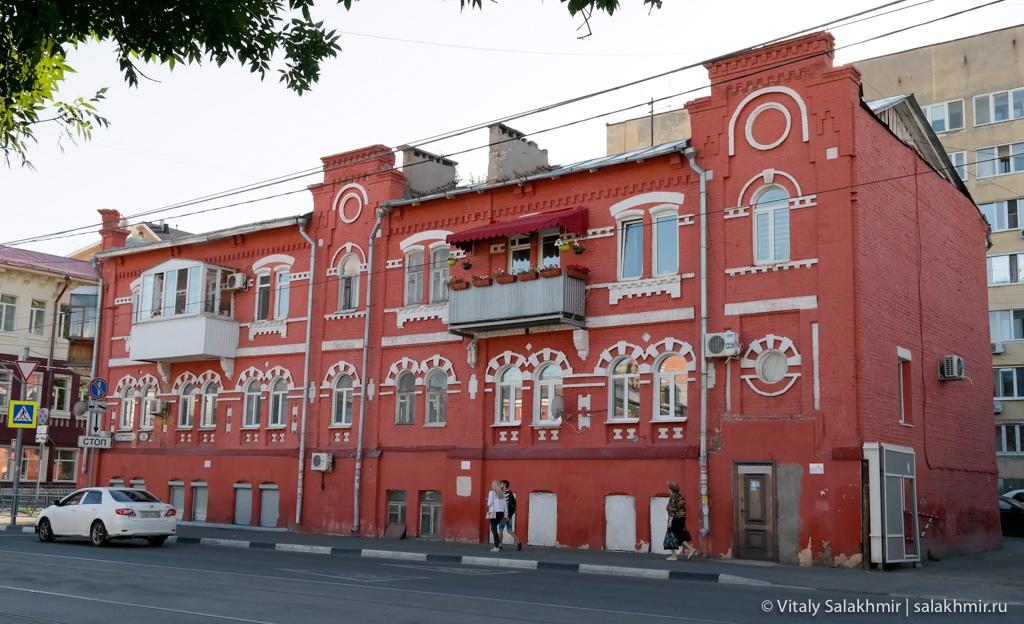 Балкон на историческом доме в Самаре 2020