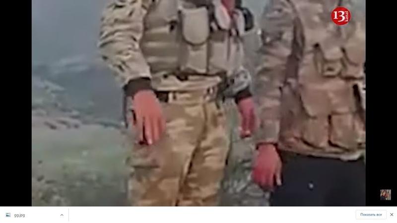 Азербайджанские бойцы в селе Баласултанлы освобожденный Губадлы Карабах