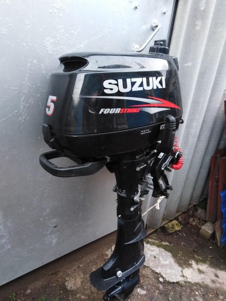 Продам мотор Suzuki 5 DF.