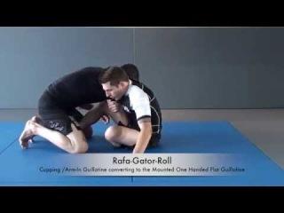 Rafa Gator Roll - One Handed Guillotine rafa gator roll - one handed guillotine