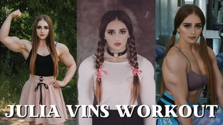 JULIA VINS ● MUSCLE BARBIE ● POWERLIFTING GIRL ● GYM WORKOUT MOTIVATION ● WORKOUT MUSIC