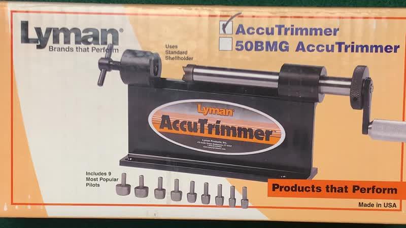Lyman Accu триммер для подрезки гильз Добавляйтесь в друзья Прицелы оборудование по релоадингу и пр Друзьям со скидками