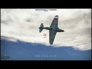 WarThunder : Воздушный бой  на ЛаГГ-3-34 .