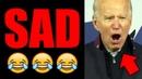 Joe Biden YELLS like a MAD MAN at Michigan Rally 😂😂😂