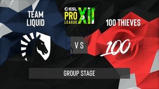 CS:GO - Team Liquid vs. 100 Thieves [Vertigo] Map 1 - ESL Pro League Season 12 - Group Stage - NA