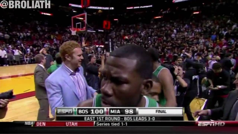 Paul Pierce Beats Miami with Buzzer Beater Game Winner HD