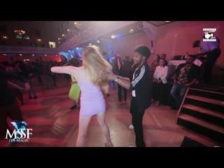 Terry SalsAlianza & Lisa Marie - social dancing - Magic Slovenian Salsa Festival 2020