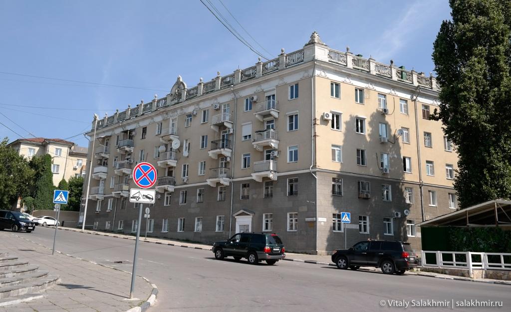 Дом на площади Гагарина в Саратове
