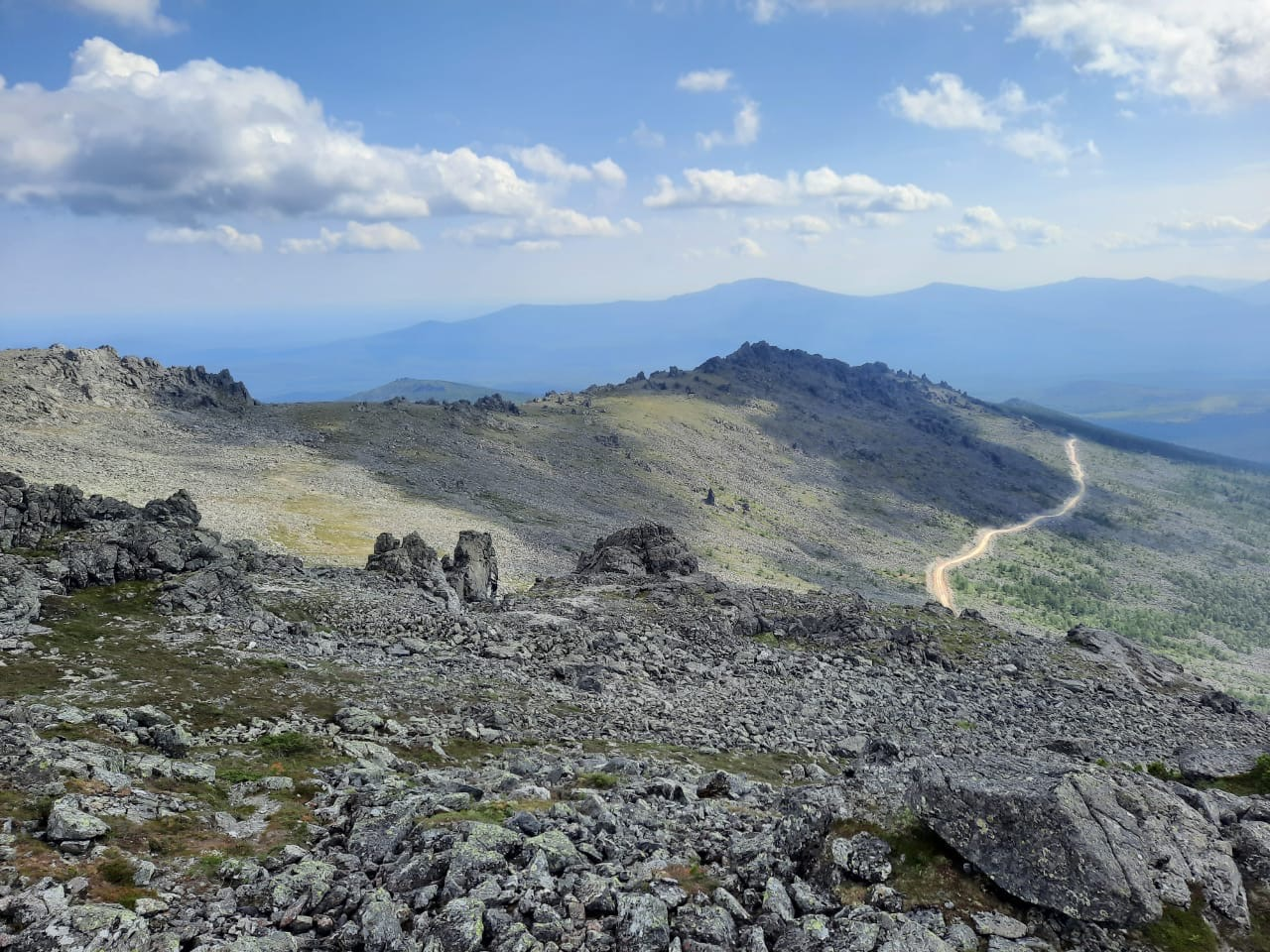 Гора «Серебрянка» 2020