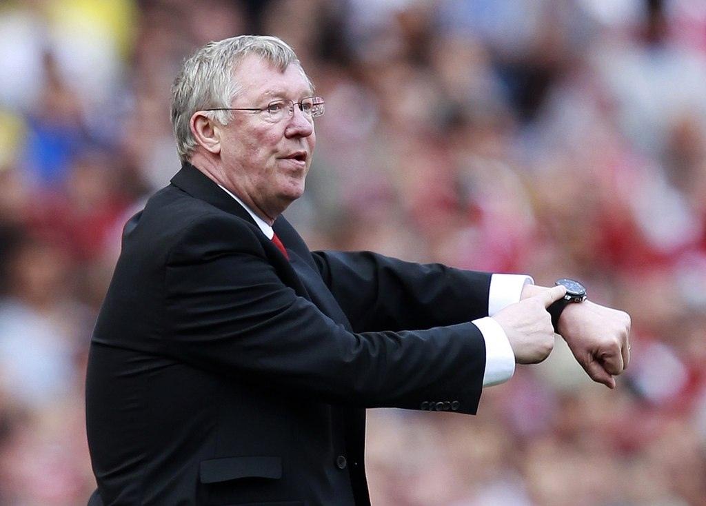 Сэр Алекс Фергюсон и часы. ФК Манчестер Юнайтед