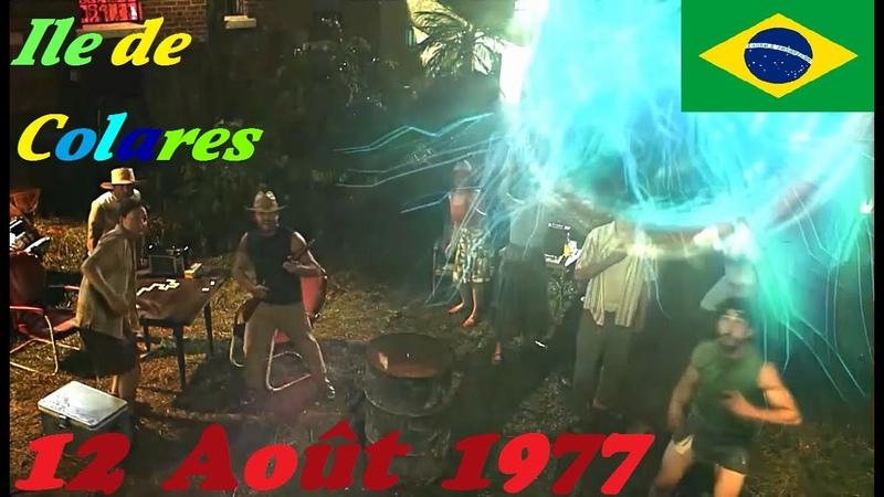 OVNI (Reconstitution) Ile de Colares, Nord du Brésil [12 Août 1977].