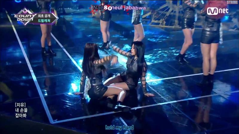 Engsub Kara M COUNTDOWN EP 570 MV Dreamcatcher YOU AND I 10 Mei 2018