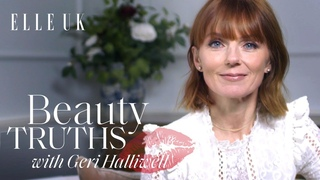 Spice Girl Geri Halliwell On Hair Power, DIY Fringe Cutting And Dyeing Mel C's Hair | ELLE UK
