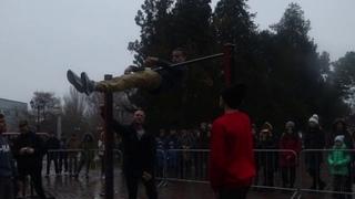 Street Workout!!! Наше выступление на Кубке Крыма по Street Workout.
