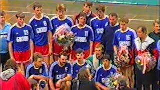 Handball SKA Minsk - TUSEM Essen (Гандбол СКА Минск - ТУСЕМ Эсcен)  European Super Cup 1989