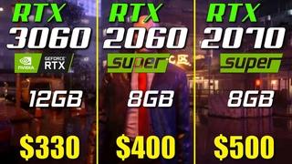 RTX 3060 vs. RTX 2070 Super vs. RTX 2060 Super | Test in 10 Games