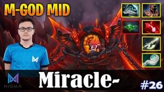 Miracle - Timbersaw   M-GOD MID vs GH (SD)   Dota 2 Pro MMR Gameplay #26