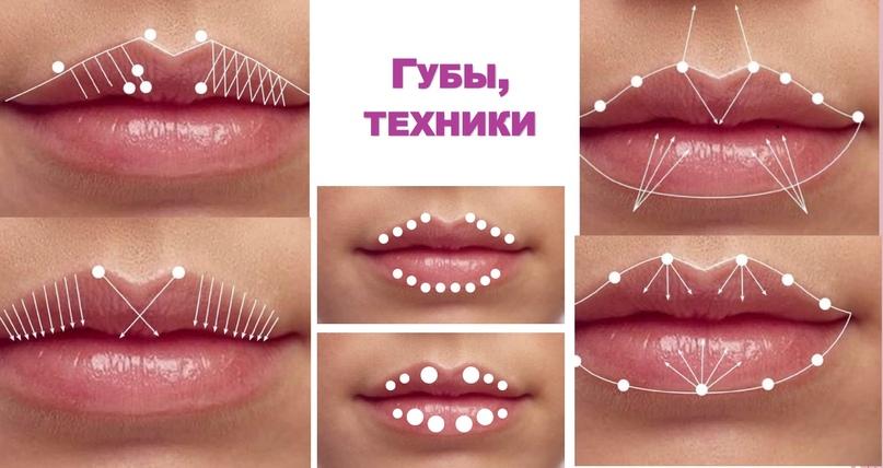 Губы и область вокруг рта., изображение №26