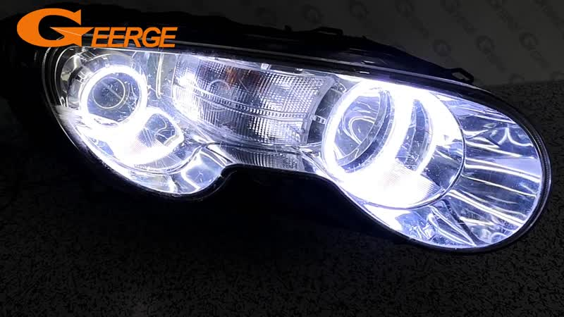For Roewe 550 MG 550 2008 2009 2010 2011 2012 Excellent Ultra bright COB led angel eyes kit