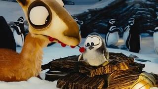 Смешной Короткометражный Мультфильм Лама Драма и пингвин для детей мультик для малышей и взрослых