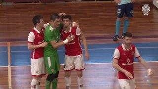 Liga Sport Zone, 1.º jogo quartos-de-final: Futsal Azeméis 4-6 SC Braga/AAUM